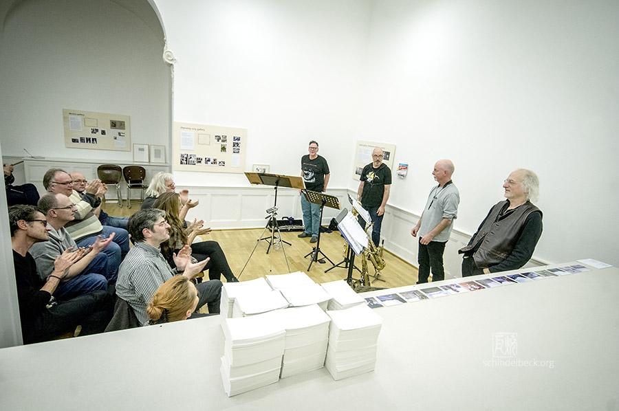 Rova; Jon Raskin; Larry Ochs; Steve Adams; Bruce Ackley; Karlsruhe; 151110; Badischer Kunstverein;
