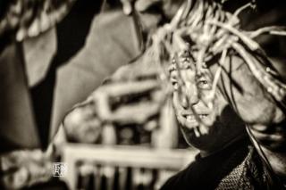 Hommage an Mo Edoga - Foto: Schindelbeck mit Erwin Ditzner und Claus Boesser-Ferrari, Bruno Nagel beim Mannheimer Kunstverein