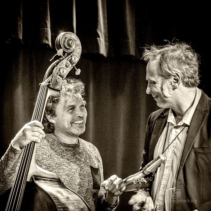 Sebastian Gramss und Rudi Mahall - Underkarl. Foto Schindelbeck