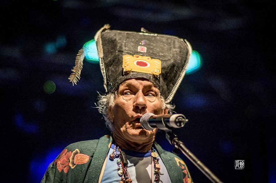 Mani Neumeier Guru Guru - Photo Finkenbach Festival 2017