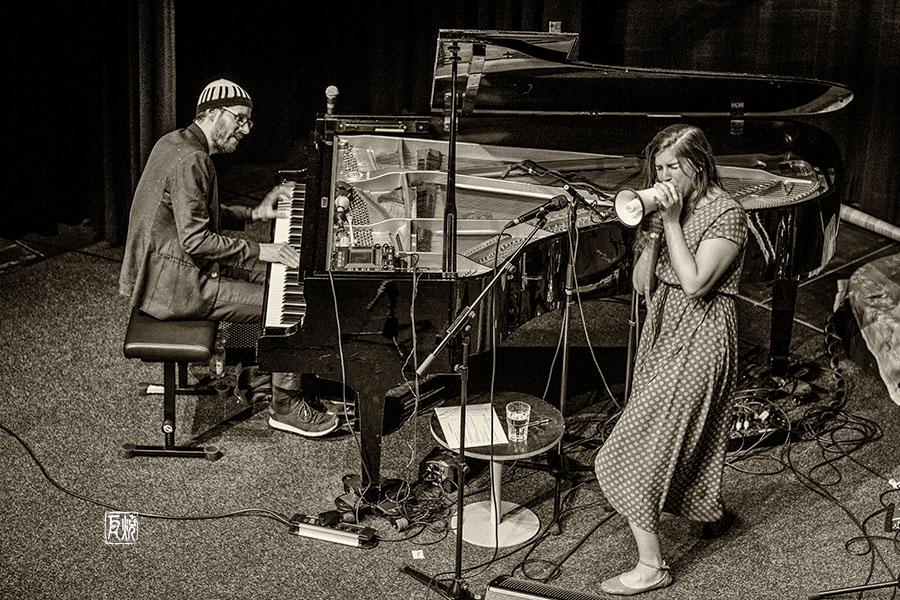 David Helbock Quartett, Filippa Gojo - Foto Frank Schindelbeck