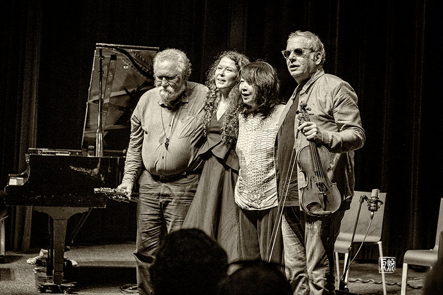 Evans, Courvoisier, Mori, Feldman - Foto Frank Schindelbeck