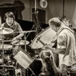 Yuko Oshima, Luc Ex, Eve Risser White Desert Orchestra - Foto Frank Schindelbeck